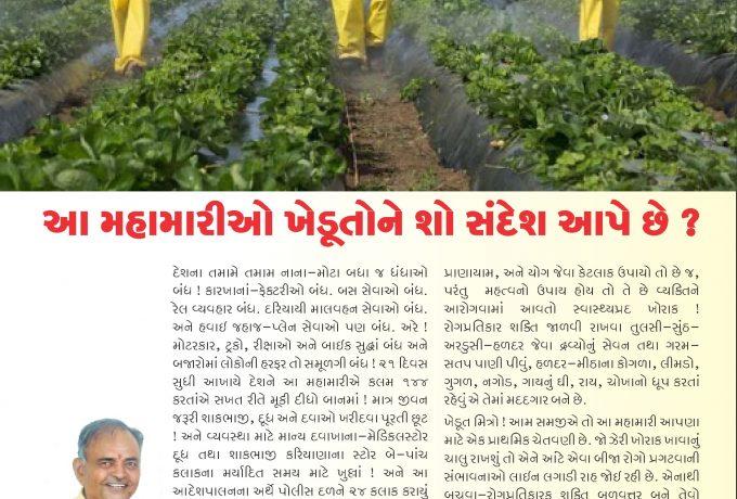 કુદરતની કેડીએ : આ મહામારીઓ ખેડૂતોને શો સંદેશો આપે છે ?